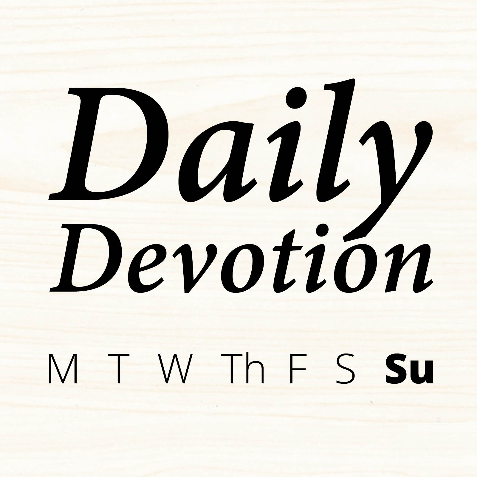 Daily Devotion