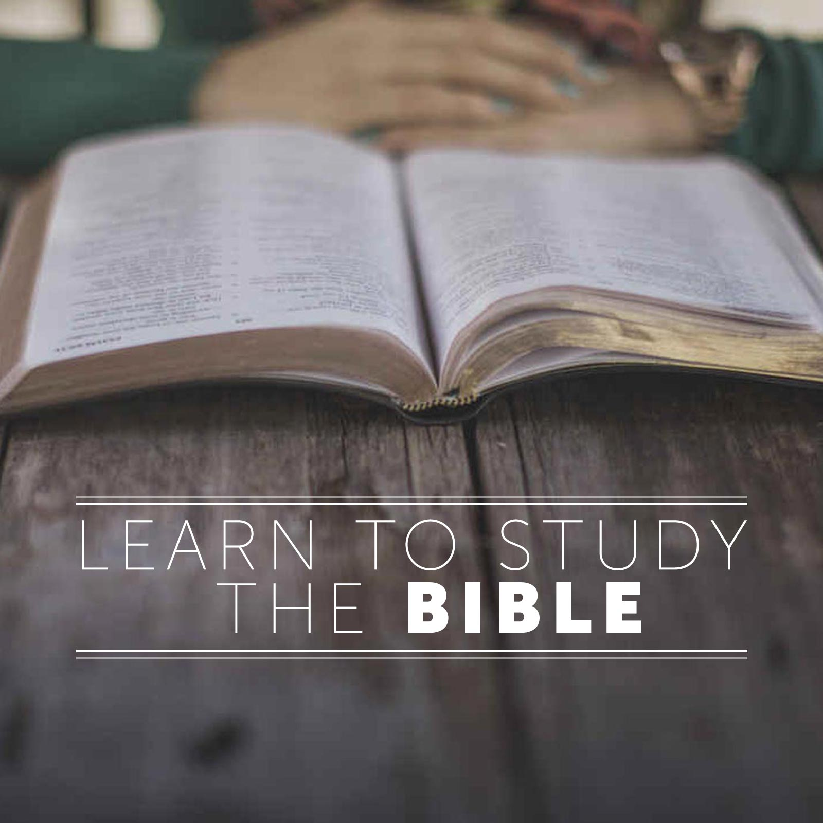 Studying the Scriptures | Bible.org