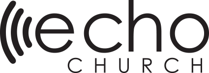 Echo Logo White